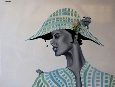 art sailing frog fashion