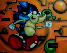 art sonic abstract