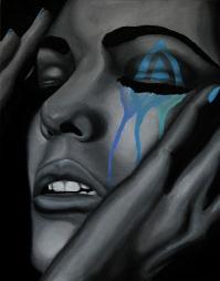 art turquoise tears