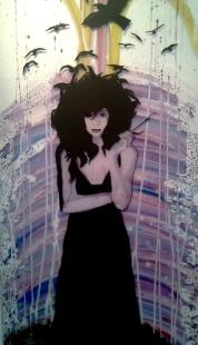 glass modern witch