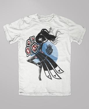 shirt alaska raven