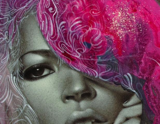 Nathan Deyoung badass paintings | Prince Pat