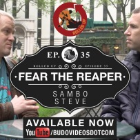 rolled up fear the reaper square fb banner