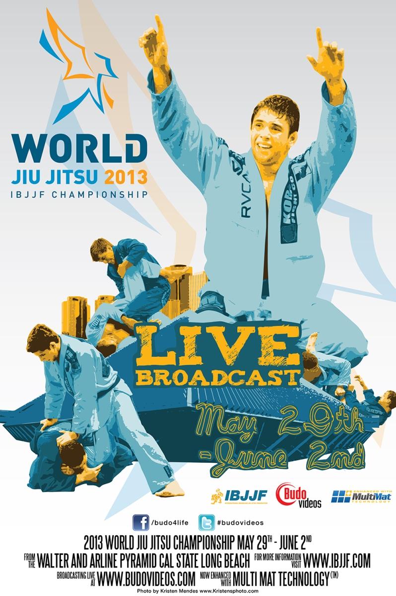 Brazilian Jiu Jitsu Poster 2013 World Brazilian Jiu Jitsu