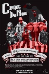 cirque du noir poster sized