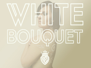white bouquet cover images