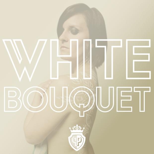white bouquet title