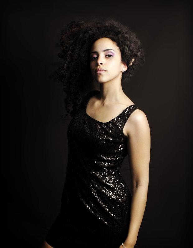 black dress sized