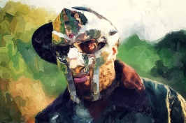 mf doom painting sized