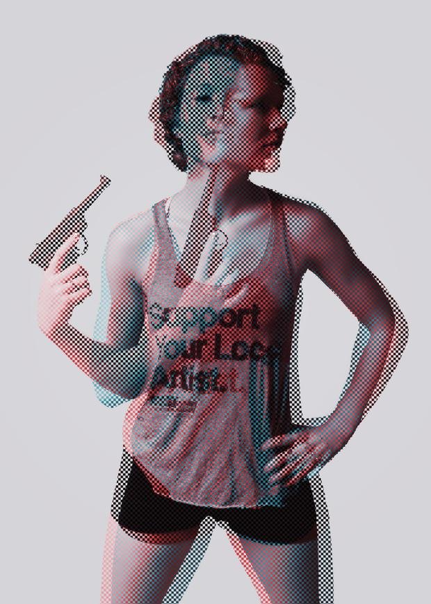 pixel exposure gun sized