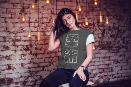 Jiu Jitsu Kanji T Shirt mockup