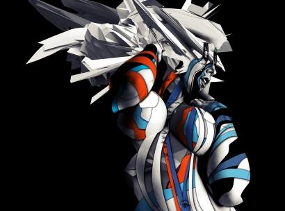 sin anime robot sized