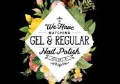 matching gel and regular